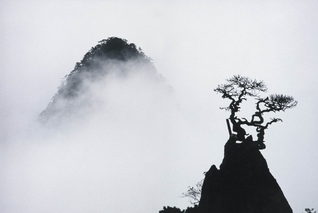 Marc-Riboud-Huangshan Mountains, China1986